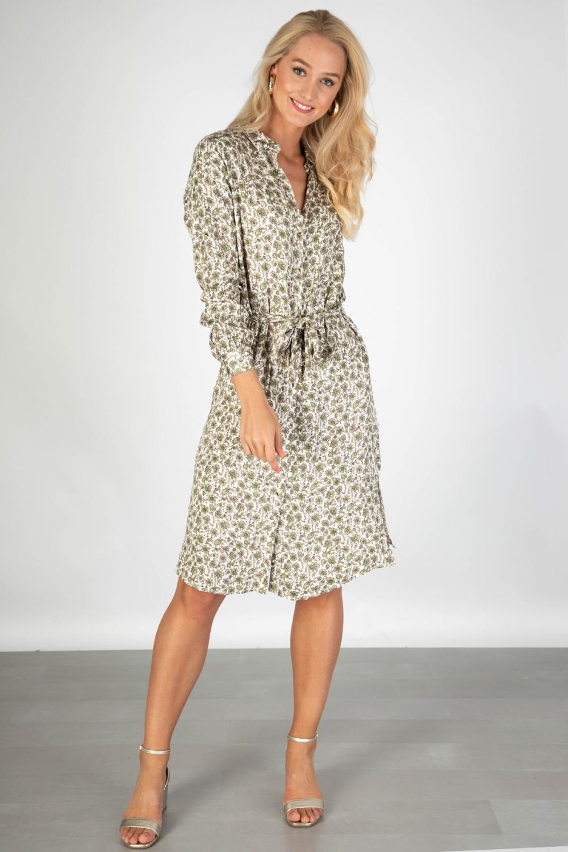 Object Midi-jurken Offwhite 23032532
