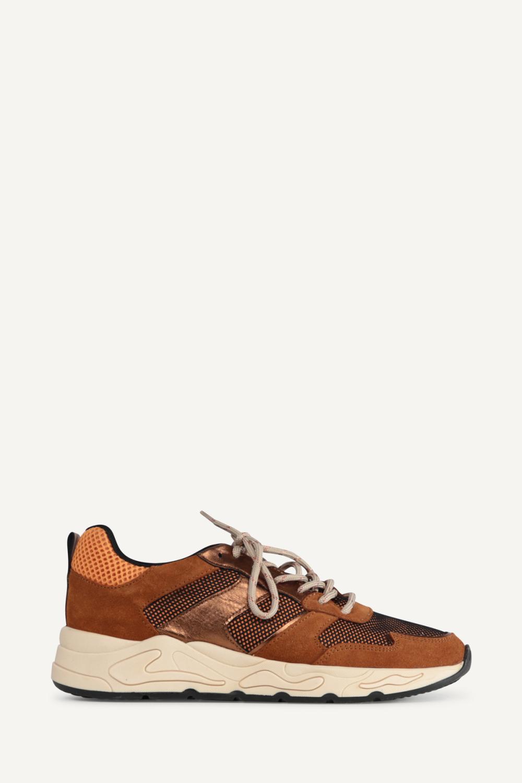 Poelman Sneaker Cognac P9192BAL