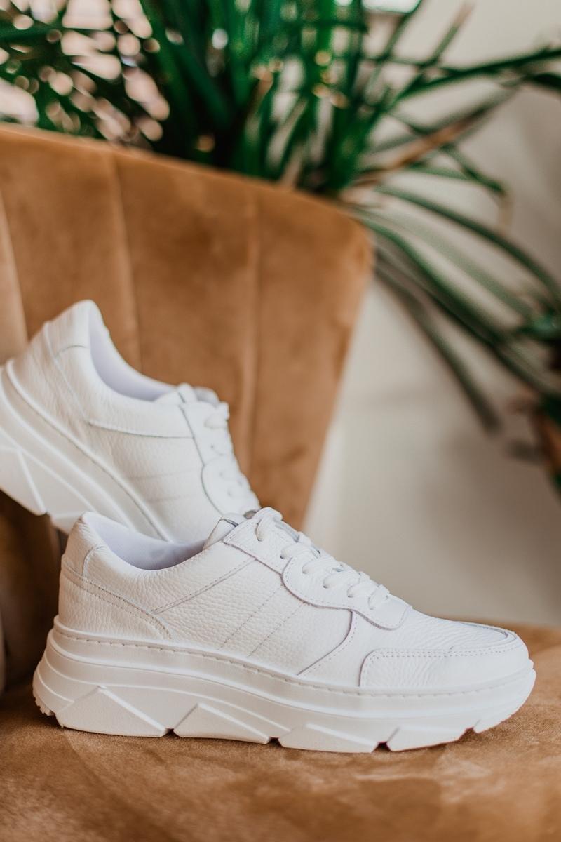 Poelman Sneaker Wit 7004