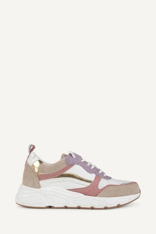 Poelman Sneaker Wit P6682POE