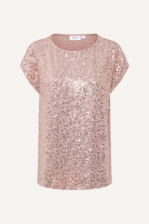 Saint Tropez Shirt / Top Roze Carola