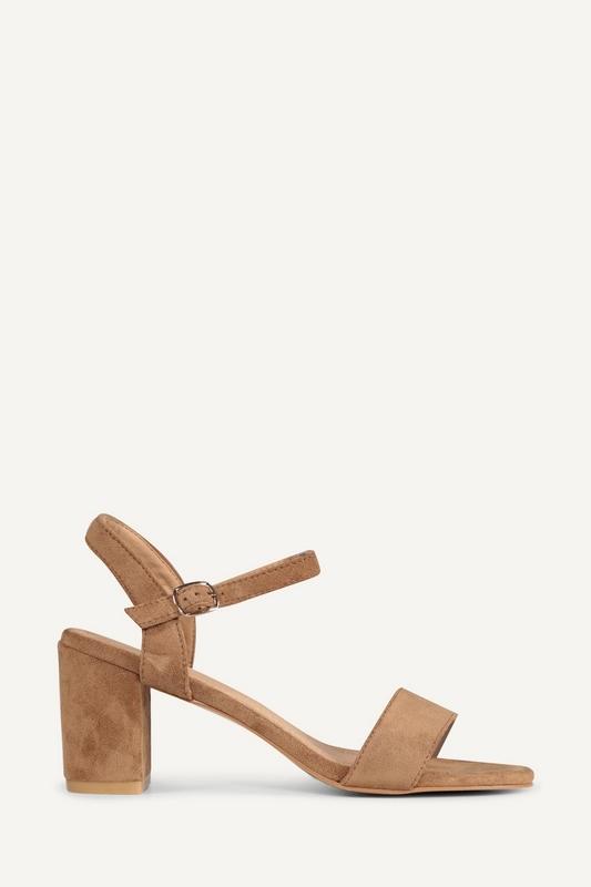 Shoecolate Sandaal hak Zand 1.11.04.040