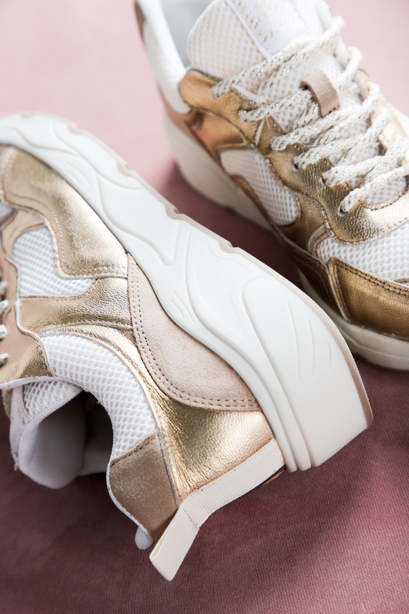 Shoecolate Sneaker Goud 8.11.04.028