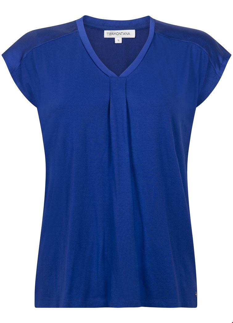 Tramontana Shirt / Top Blauw D20-94-403