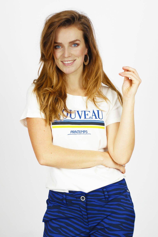 Tramontana Shirt / Top Ecru I04-94-401