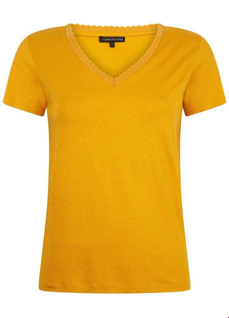 Tramontana Shirt / Top Geel D28-92-401