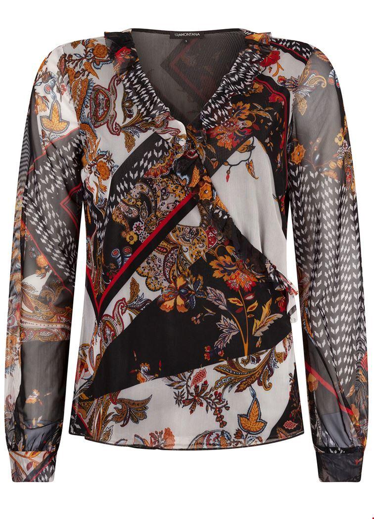 Tramontana Shirt / Top Multicolor C01-92-401