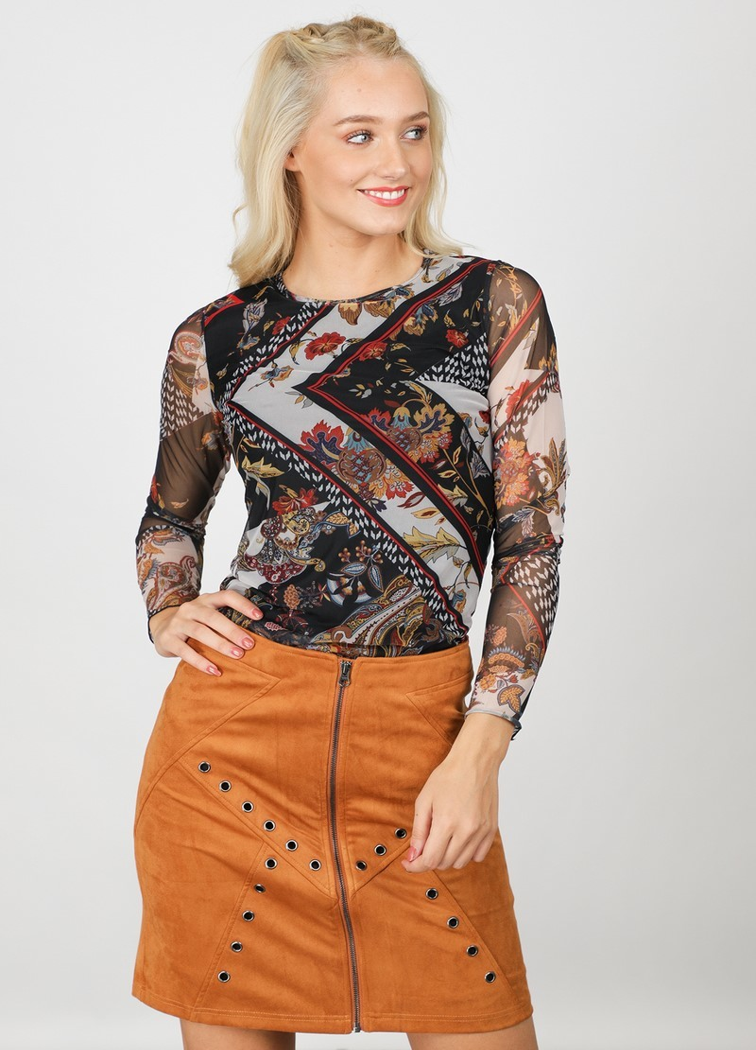 Tramontana Shirt / Top Multicolor C01-92-402