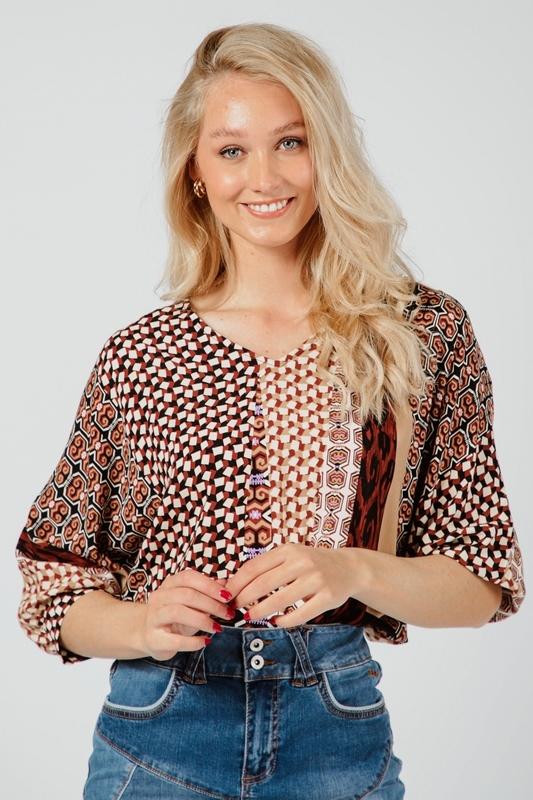 Tramontana Shirt / Top Multicolor C09-98-301