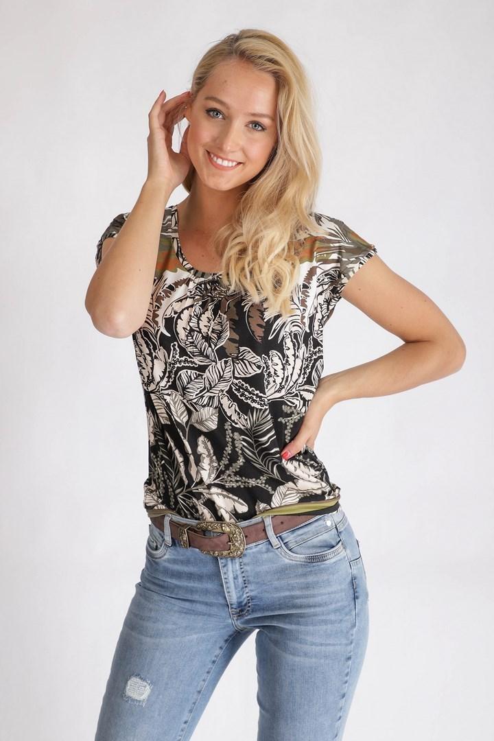 Tramontana Shirt / Top Multicolor D17-95-402