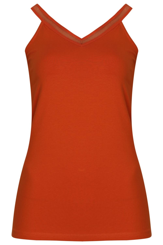 Tramontana Shirt / Top Oranje D22-94-403