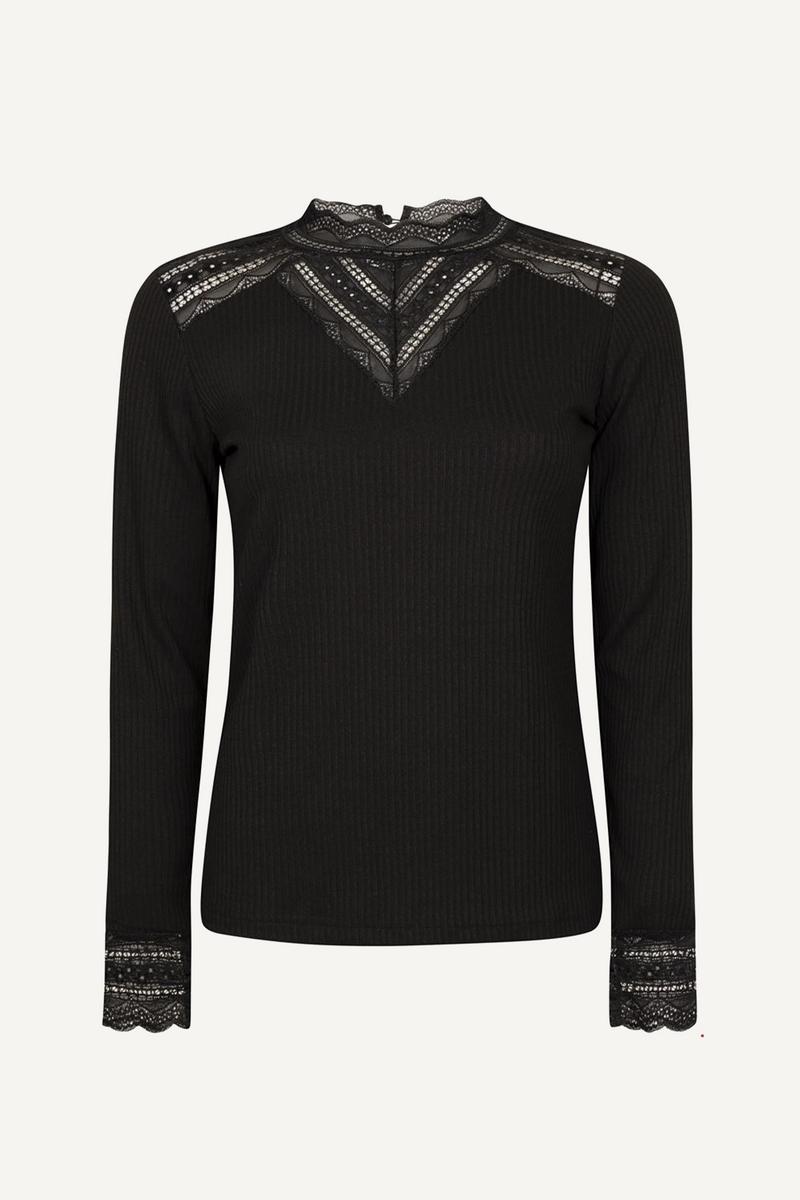 Tramontana Shirt / Top Zwart C13-96-401