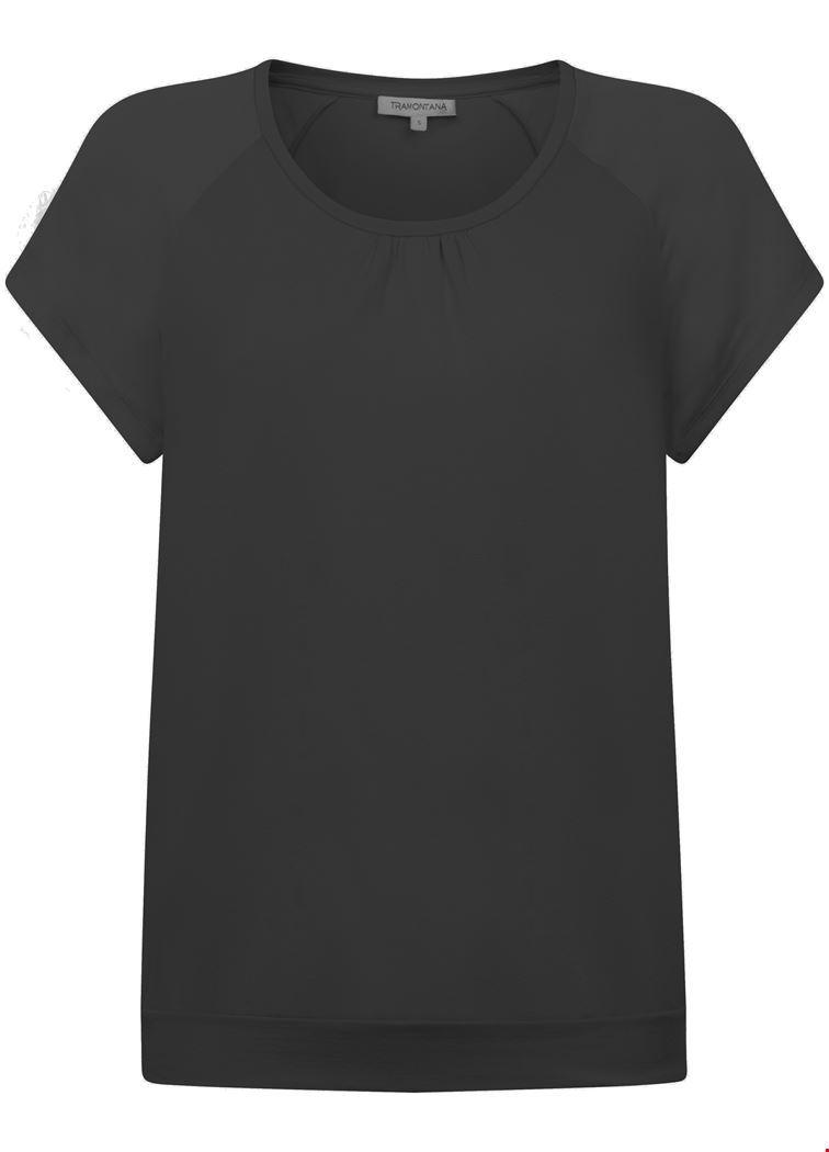 Tramontana Shirt / Top Zwart D20-94-401