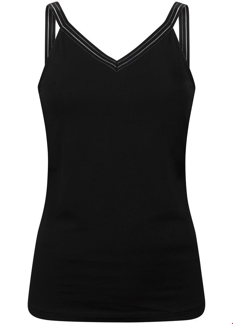 Tramontana Shirt / Top Zwart D22-94-402