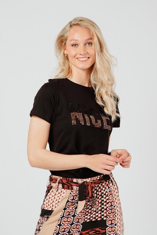 Tramontana Shirt / Top Zwart I01-98-401
