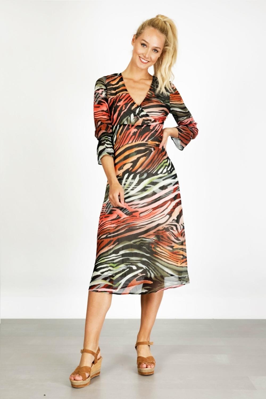Tramontana Maxi-jurk Multicolor C01-95-501