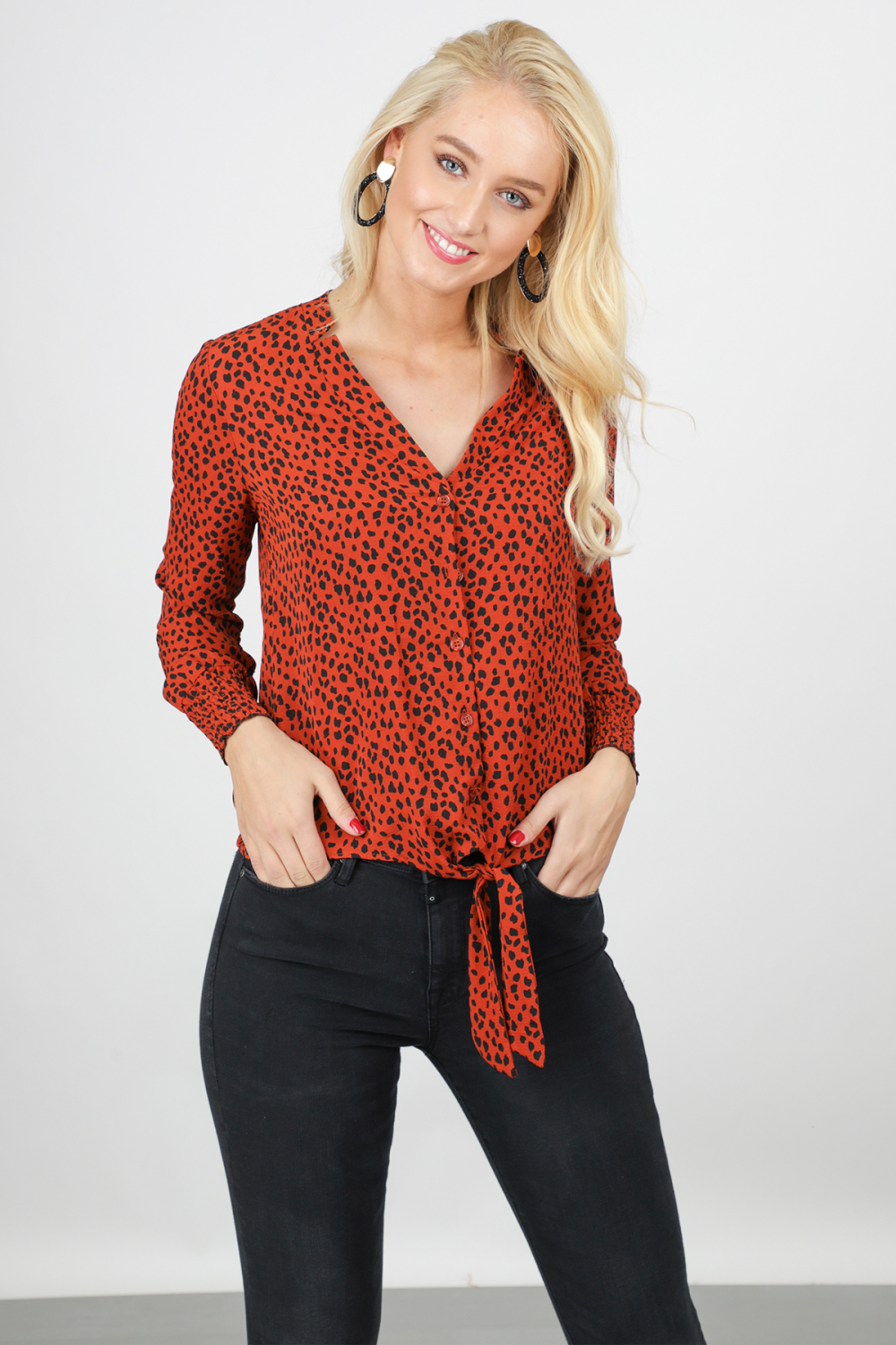 Typical Jill Blouse Brique Monique