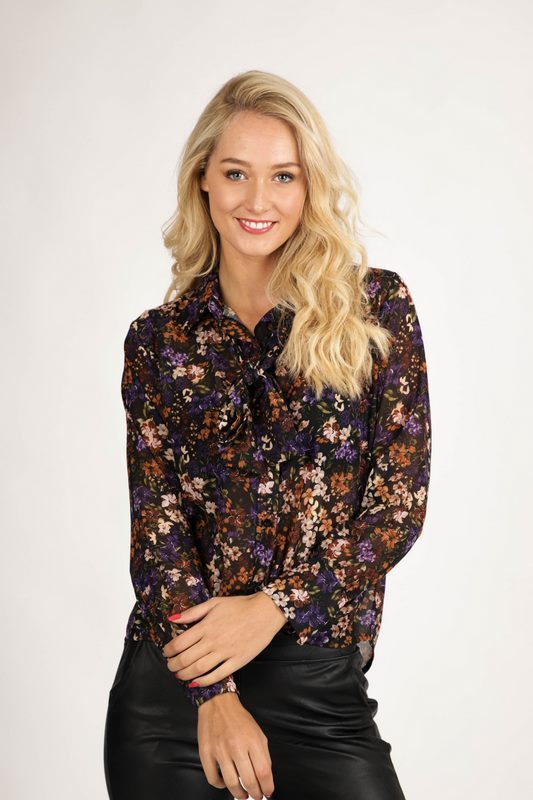Typical Jill Blouse Multicolor Shelly