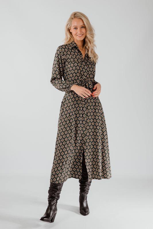 Typical Jill Maxi-jurk Groen Frederika
