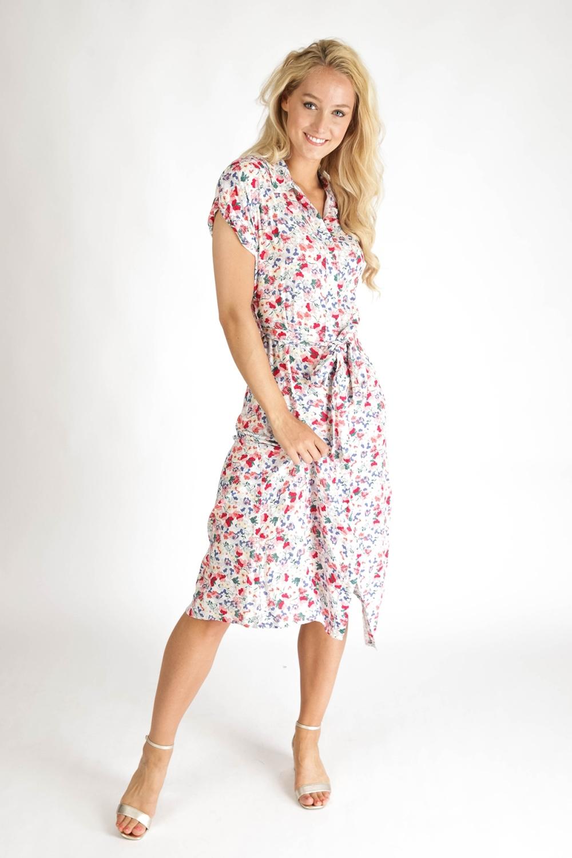 Typical Jill Maxi-jurk Multicolor Chantal