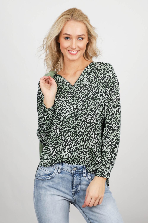 Vila Shirt / Top Groen 14049450