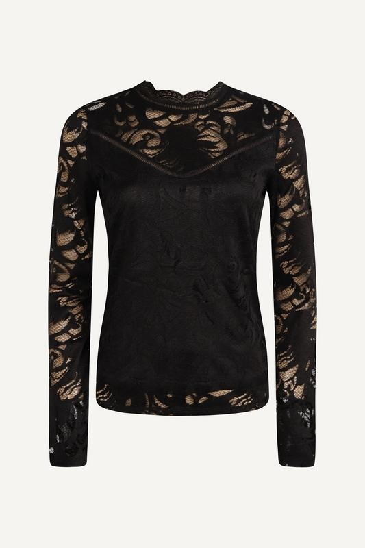 Vila Shirt / Top Zwart 14041864