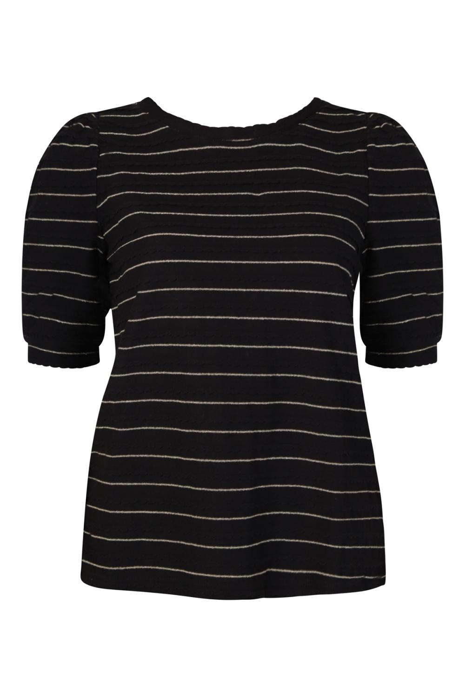 Vila Shirt / Top Zwart 14058982