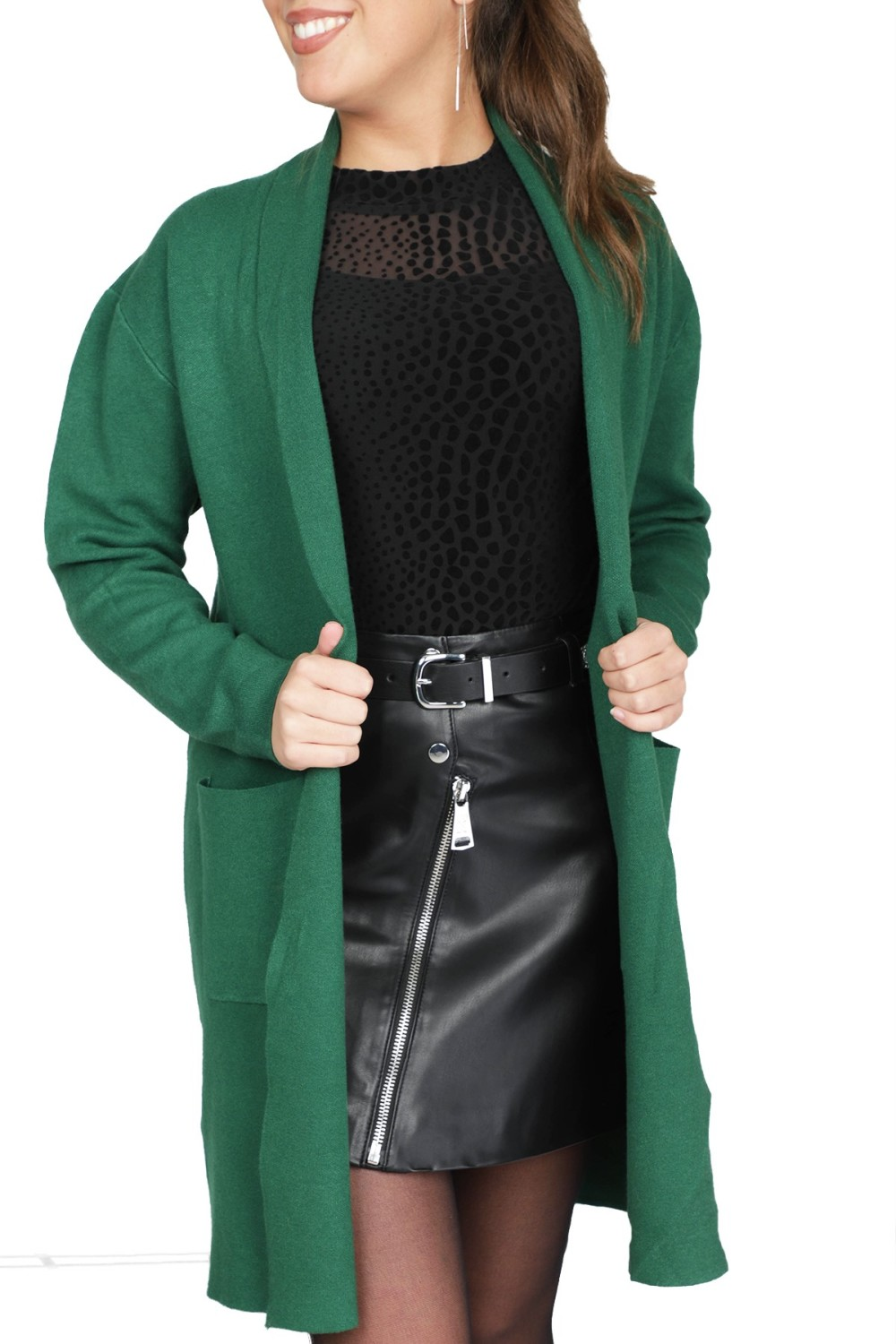 Y-our Story Vest Groen Droon