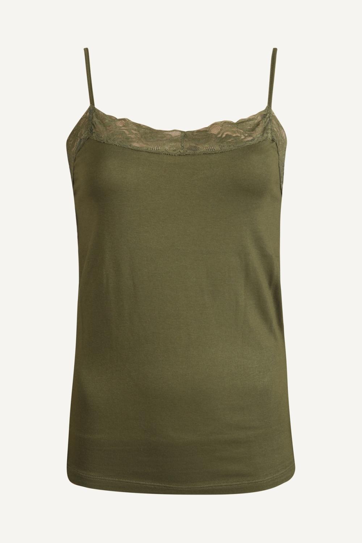 Your Essentials Shirt / Top Groen Sky