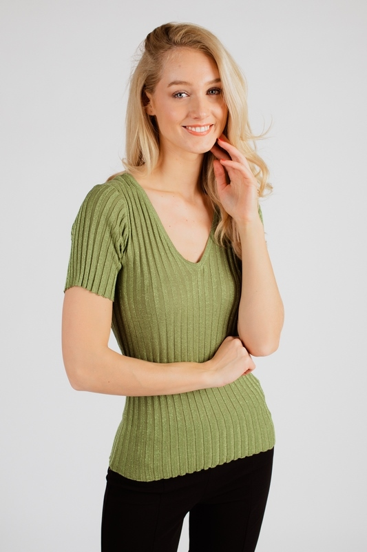 Your Essentials Shirt / Top Groen Vera