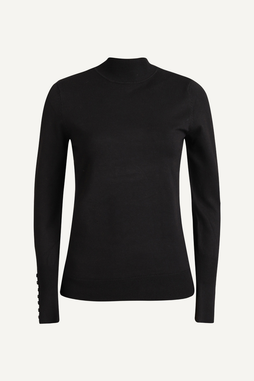 Your Essentials Shirt / Top Zwart Anna