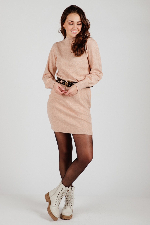 Your Essentials Midi-jurken Beige Abbey