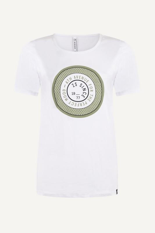 Zoso Shirt / Top Groen Lenny