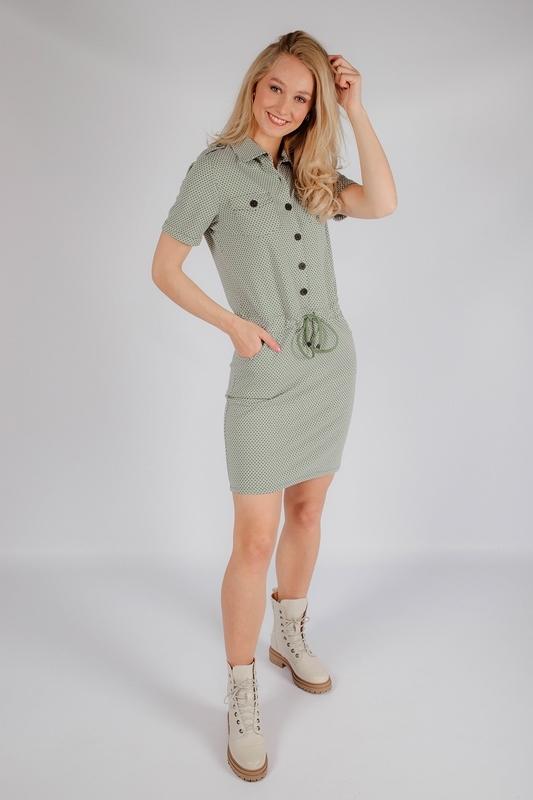 Zoso Midi-jurken Groen Maud